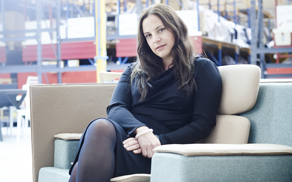 "Bild/Picture  Nathalie Felber: ""I ask a lot of questions. That's my approach."""