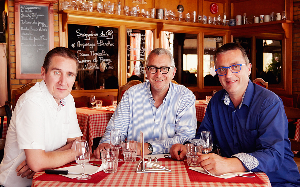 Bild/Picture Les Frères Marchand – Three Brothers United in Their Quest for Excellent Cheese