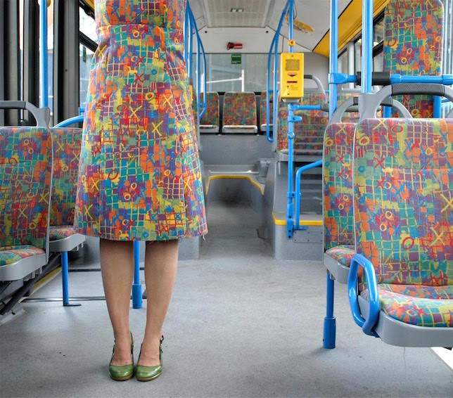 camouflage seat